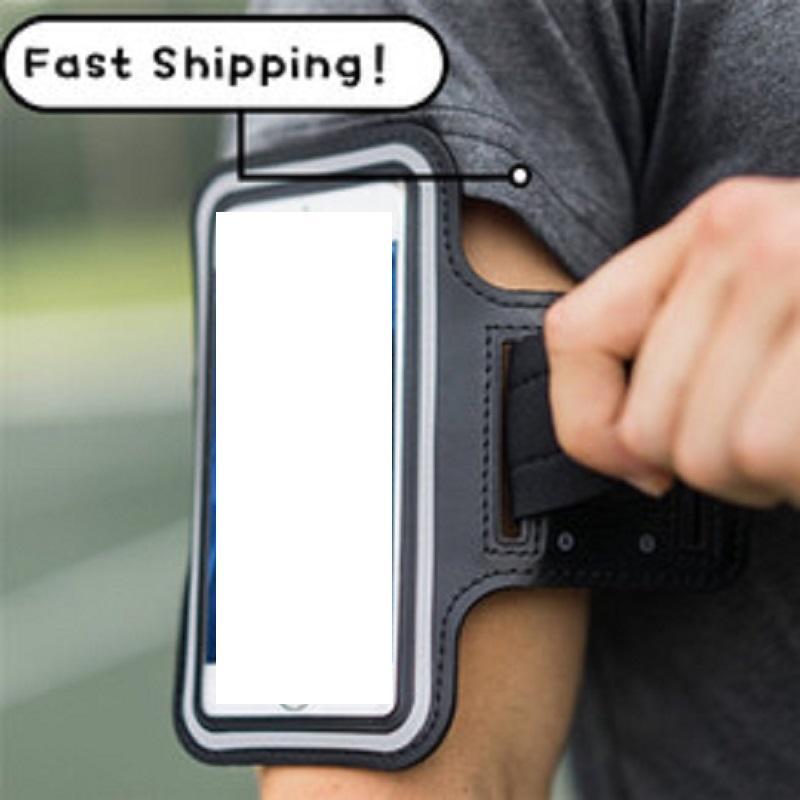 Evrensel Açık Spor Tutucu Kol Bandı Kılıfları Samsung Gym Koşu Telefon Çantası Kol Bandı Kılıfı