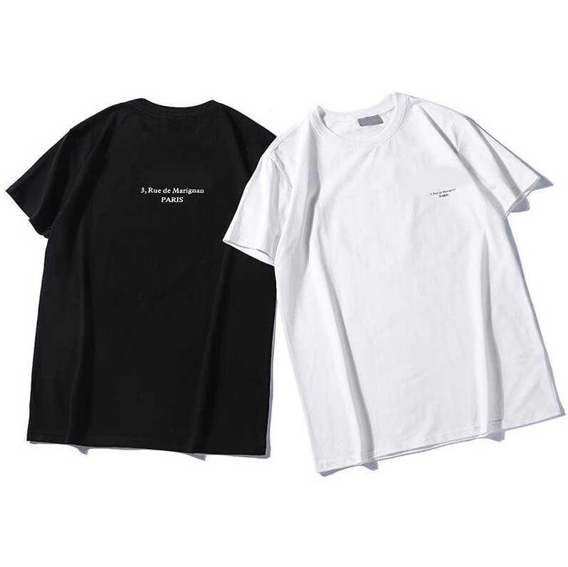 2020 Nova Designer de Moda de Verão T Camiseta Para Homens Tops Luxo Carta Embroidery Camiseta Mens Mulheres Roupas De Manga Curta Tshirt Homens T-shirt