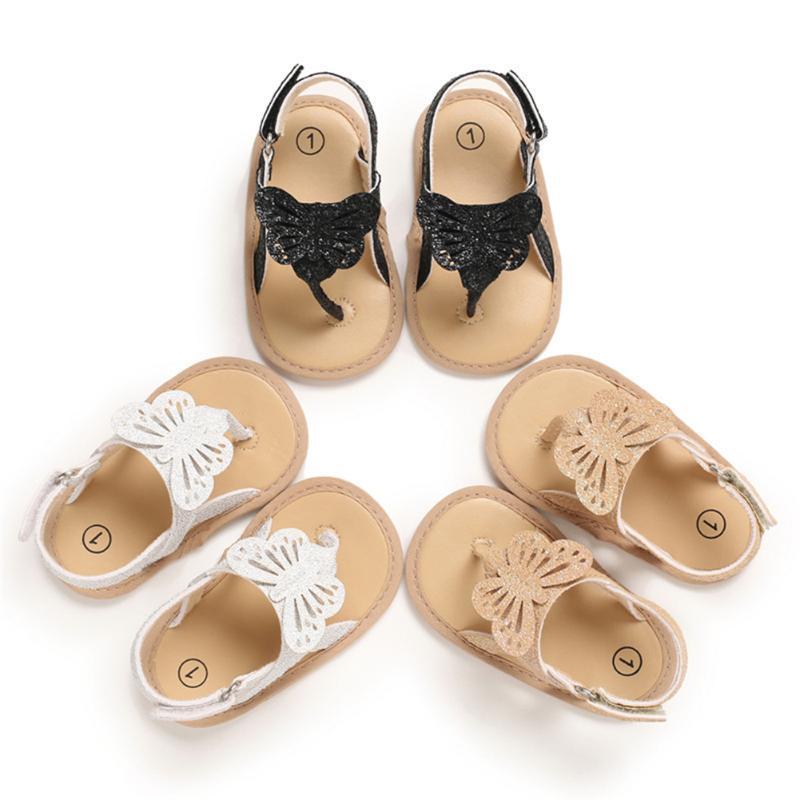 어린이 해변 신발 여름 소녀 파란색 샌들 아기 활 슬립 소프트 바닥 공주 플립 플롭
