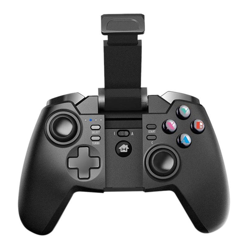 Gaming Controller Wireless Gamepad With Retractable Stand And 360 Degree Rotating Button For Android Smartphone Game Controllers & Joysticks