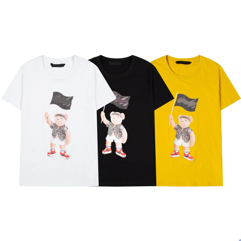 FJ34 Men Moda Summer T Shirt manica corta Top in cotone Tees Casual Hip Hop Street Mens T-shirt Unisex Womens Clothe S-2XL