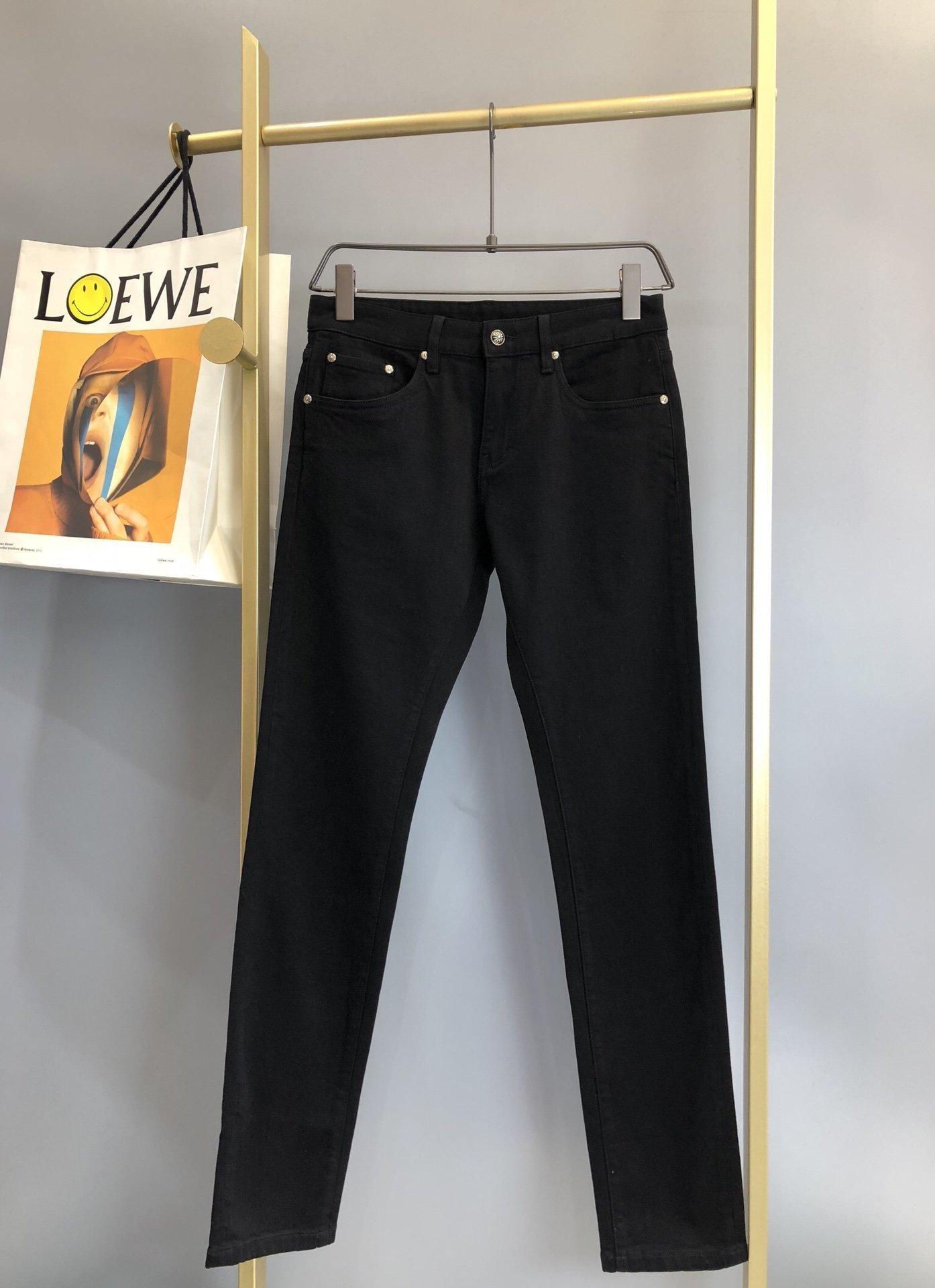 CROSIN CH / 20 Новые повседневные растягивающие штаны ноги CH Slim Fit Jeans для мужчин и женщин