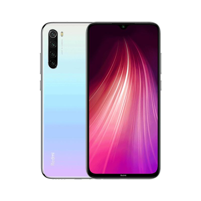 "Original Xiaomi Redmi Note 8 4G LTE Cell Phone 4GB RAM 64GB ROM Snapdragon 665 Octa Core Android 6.3"" Full Screen 48.0MP 4000mAh Fingerprint ID Face Smart Mobile Phone"