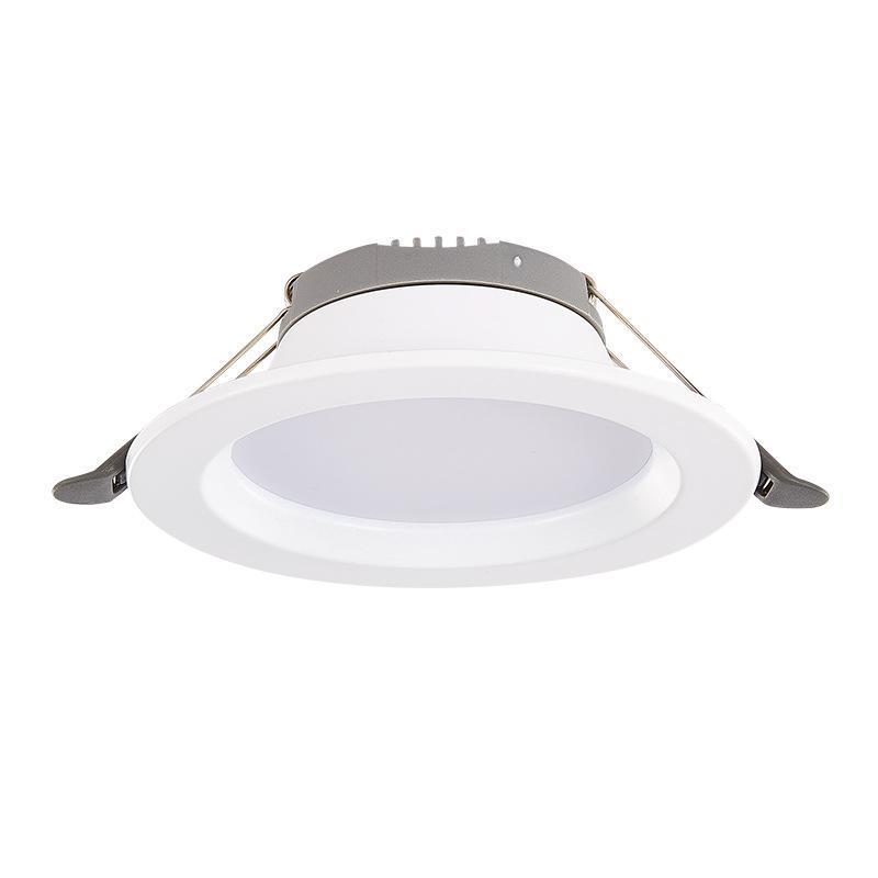 Современные светильники 10 шт. Светодиодное пятно Легкий светильник Внешний светильник Круглый Утопленный лампа AC185-245V 5W 7W Водонепроницаемая потолочная лампочка крытая спальня кухня