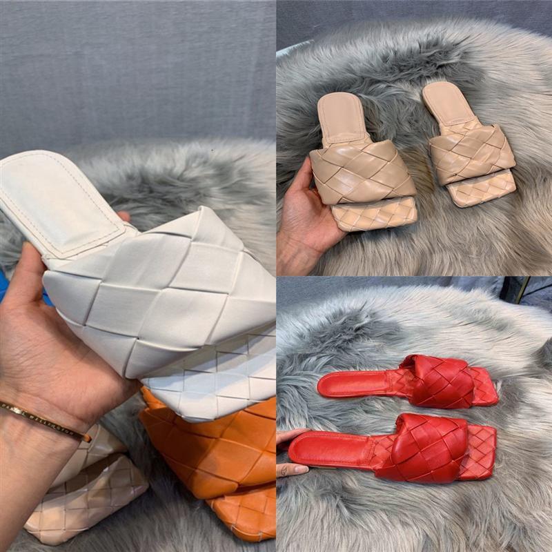VJJQ1 MENS para mujer Diseñador de mujeres Cuero de verano Zapatillas zapatillas Sandalias de diapositivas de playa Comodidad Flip Flop de alta calidad Zapatos de lujo
