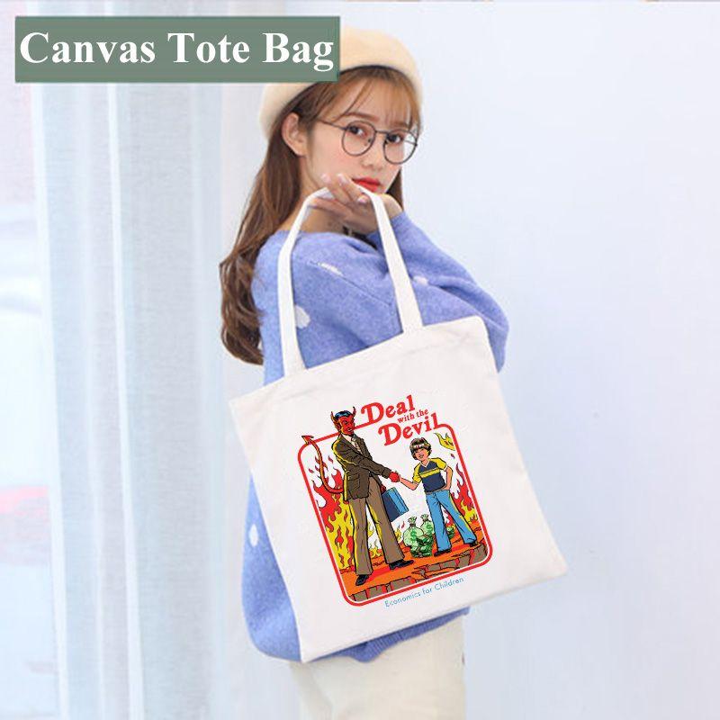 حقيبة التسامي فارغة 35 * 40CM الأبيض diy قماش حمل حقيبة أكياس التخزين الكلاسيكية في الهواء الطلق حقيبة الظهر