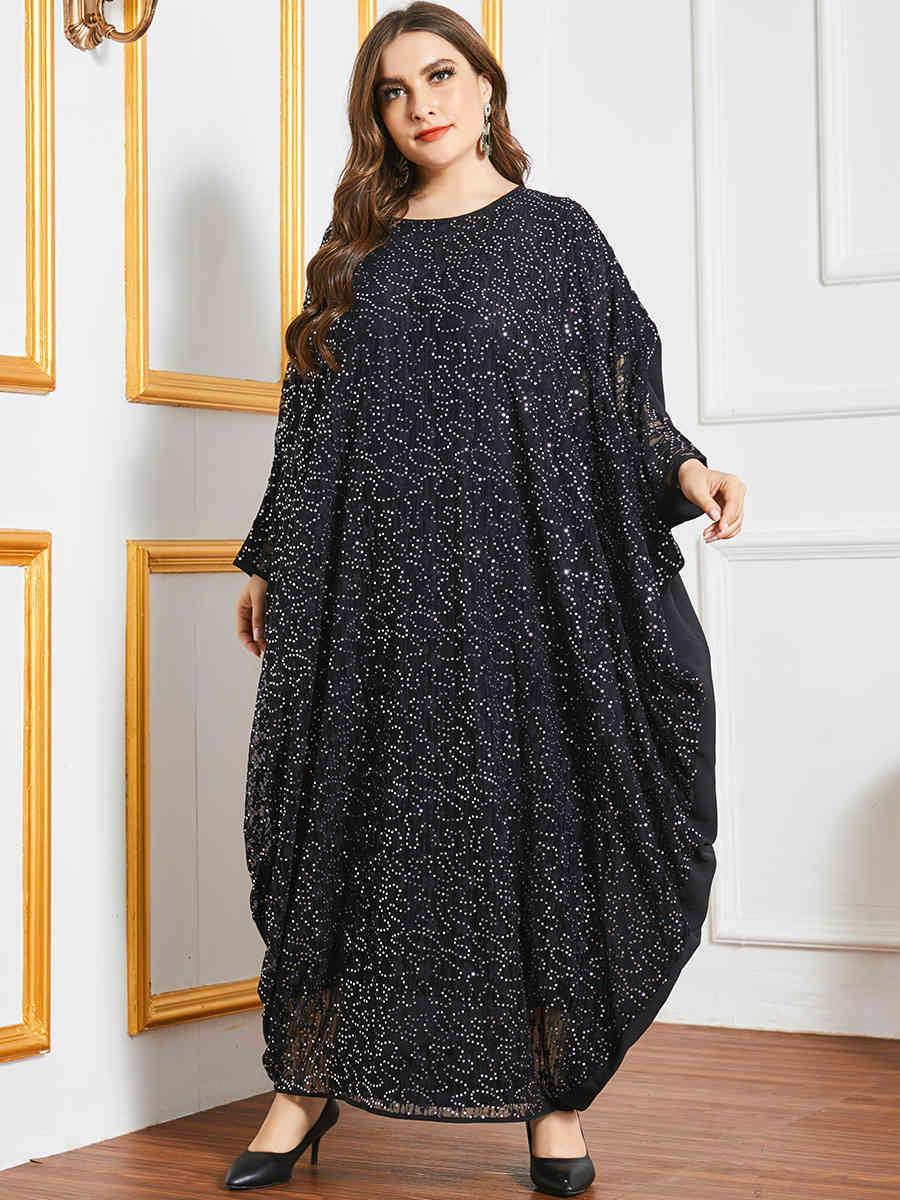 Günlük Elbiseler Eid Mübarek Abaya Dubai Türkiye Müslüman Elbise İslam Giyim Abayas Maxi Afrika Kadınlar için Kaftan Robe Vestidos Jalab