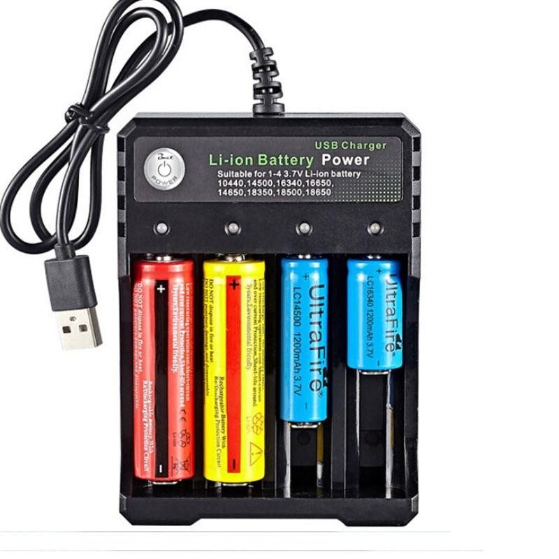 هايت الجودة 4 فتحات متعددة الوظائف usb شاحن رباعية فتحة بطارية ليثيوم أيون الطاقة ل 4.2 فولت 26650 10440 16340 16650 18350 18500 بطارية ليثيوم قابلة للشحن dhl