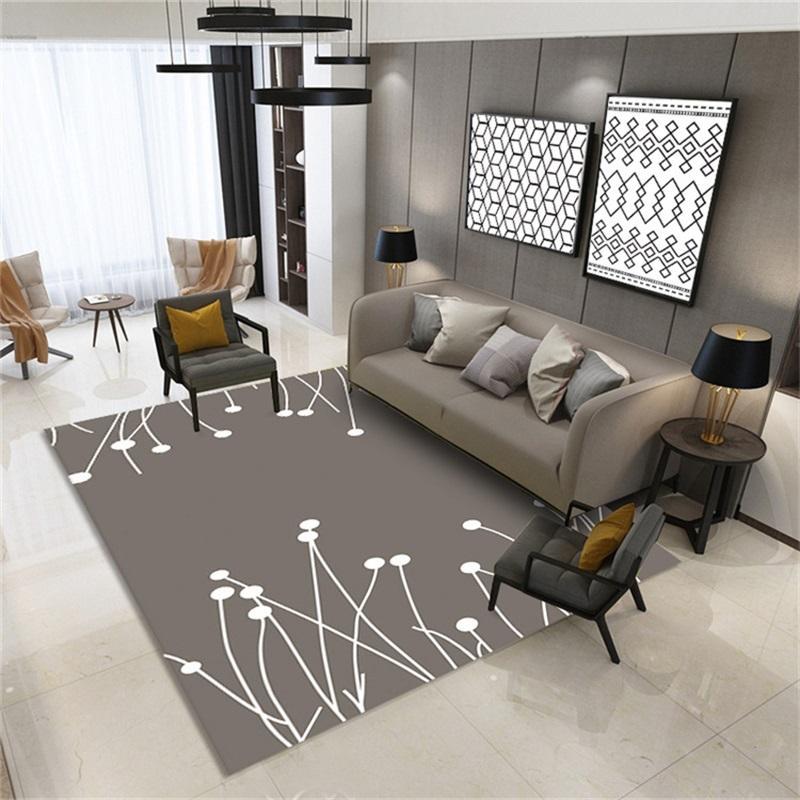 Alfombras 3D Alfombra de lujo Ilusión óptica antideslizante Baño de baño Mat de piso 3D Dormitorio de la impresión Dormitorio Sala de estar Casa de baño Mesa de café Alfombra 332 R2