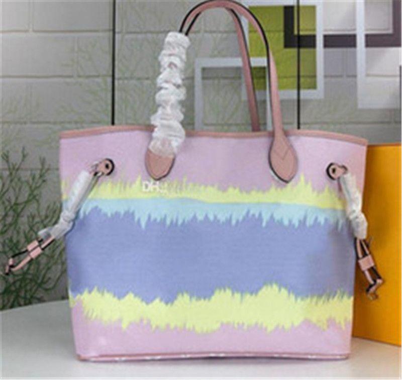 Hot New Style Handtaschen Umhängetaschen Totes Umhängetasche für Frauen Umhängetasche Klassische Dame Handtaschen Geldbörsen Taschen Zweiteilige Handtaschen