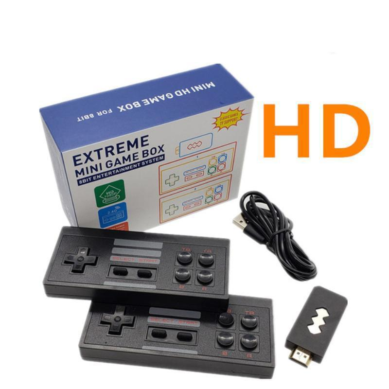 HD Nostalgic host 2.4G Wireless Handheld Video Game Player can store 818 Retro Classic Games Portable Consoles Kids Gift