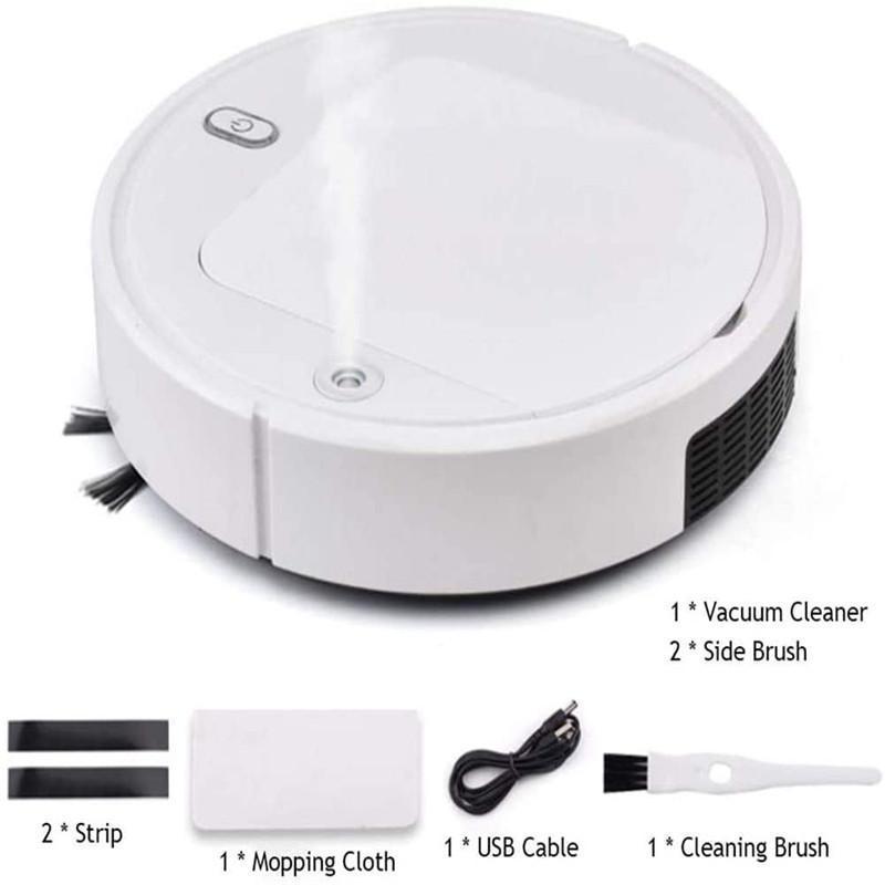 Aspiradores de aspiradores Smart Robot Limpador UV Desinfecção de desinfecção Esterilização Sweach e molhado Spray de piso
