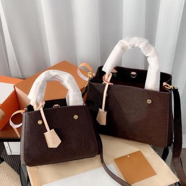 2021 Designer Luxurys Borse borse Montaigne Classic Lady Borse a tracolla di moda Donne borse crossbody Senior Shopping Bags