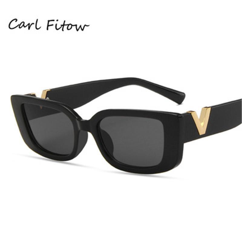 Lunettes de soleil européennes et américaines Sunglasses Personnalité Rétro Square Instrine Street Trend
