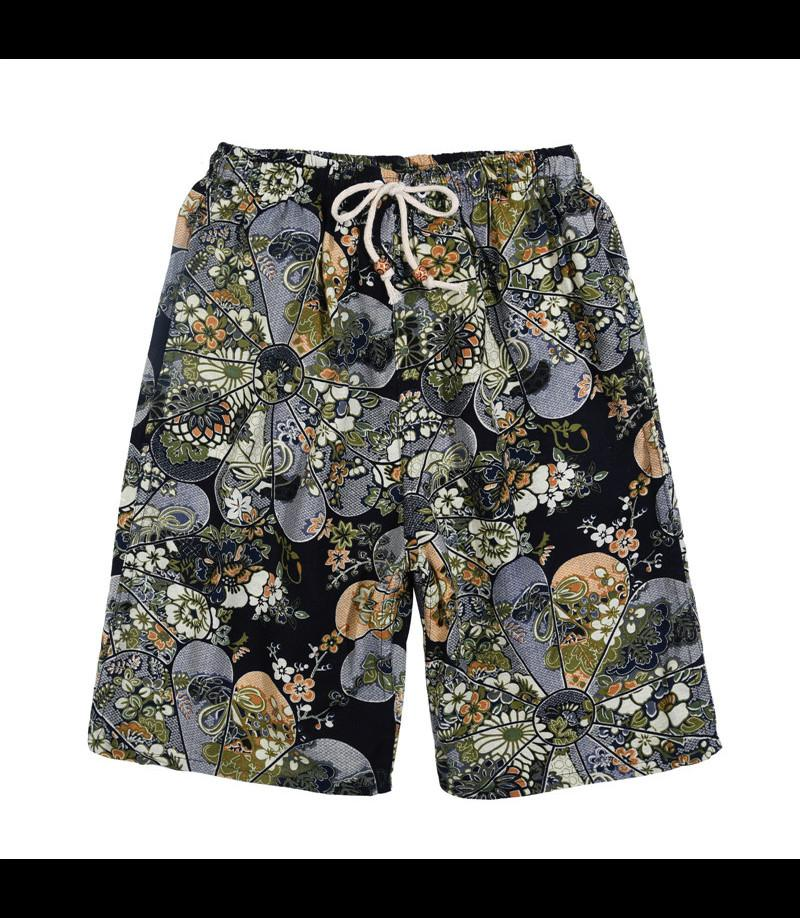 2021 Pantaloncini da calcio Summer Style Hot Style Cotton and Lenzy Stampato Big Pantaloni Big Pantaloni Beach Sciolto Dzeko AAA888