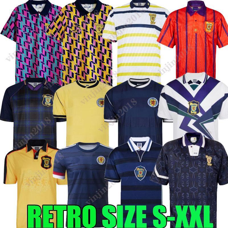 1978 Final de la Copa Mundial Scotland Retro Soccer Jersey 2021 1982 1986 1991 1992 1993 1998 1999 1988 1989 91 92 93 94 95 96 98 99 00 Clásico Vintage Ocio Hendry Lambert Shirt