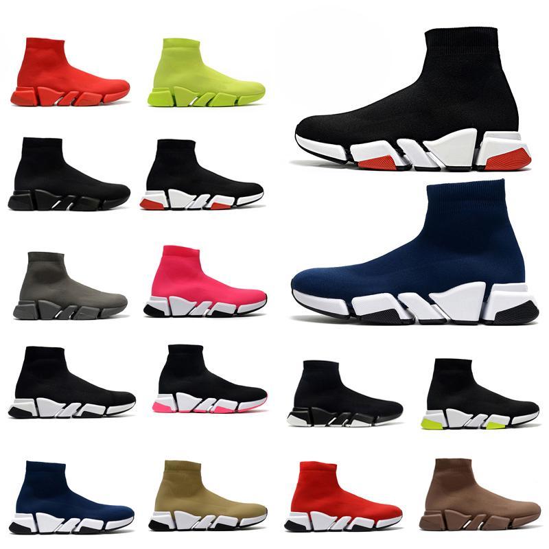 # 2021 # Designer Balenciaga balenciga Balanciaga maschi da donna Speed Trainer Sock Stivali Stivali Stivali Stivali Casual Scarpe Scarpe Runner Sneakers 36ybkg #