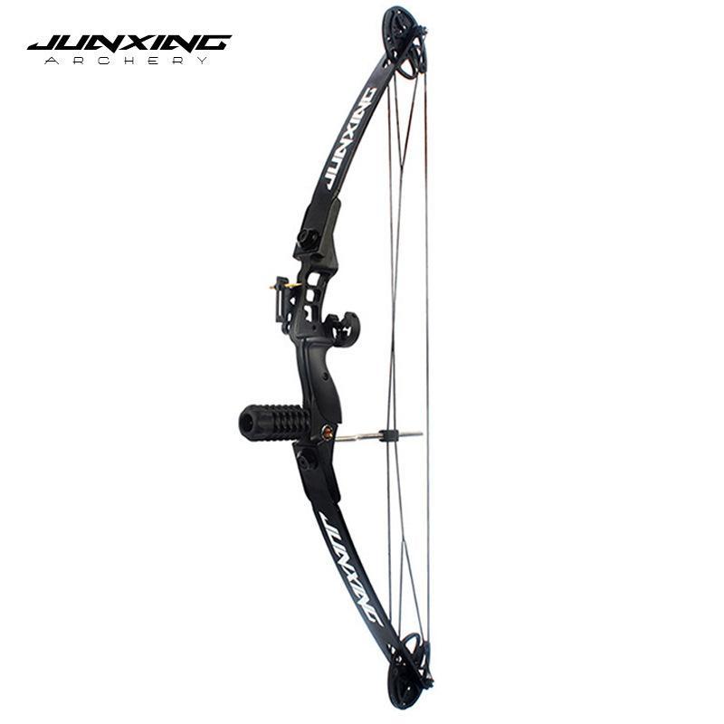 Junxing M183 30-40 LBS الرماية مجمع القوس كيت إزالة القوس من اليد اليمنى للصيد، اطلاق النار والاكسسوارات الصيد X0524