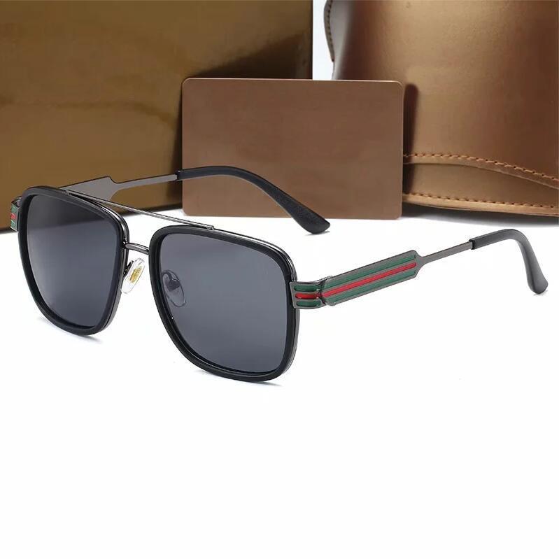 Moda Hot Luxo Diamante Marca 98073 Óculos de sol para homens e mulheres Moda Óculos de sol