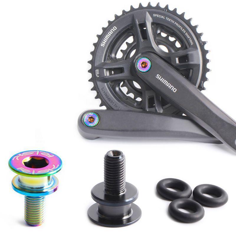 Bike Derailleurs 1Pair Fixing Bolts Bicycle Titanium Alloy Shift Rear Derailleur Rotation Shaft Screw Cycling Accesseries