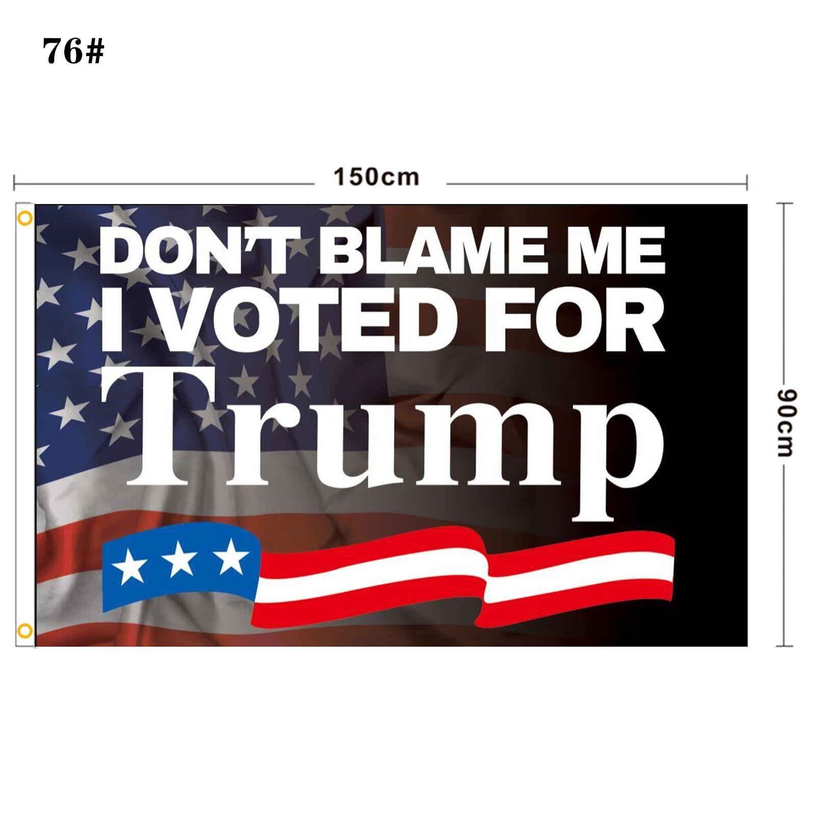 DHL Blue Red Trump Bandiera 2024 Bandiera elettorale Banner Donald Trump Bandiera Tenere America Grande di nuovo Ivanka Trump Bandiere 150 * 90 cm FA30
