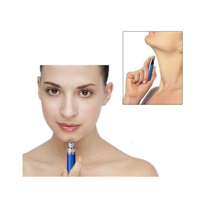Bouteille en verre en aluminium 5ml Bouteilles cadeau de haute qualité rechargeable mini parfum de parfum de parfum de parfum