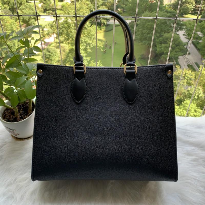OntheGo MM GM BAG LUXURYS Designer Taschen Handtaschen M45321 Hohe Qualität Damen Kette Schulter Patentleder Diamant Luxurys Abendtaschen Kreuz Body Bag