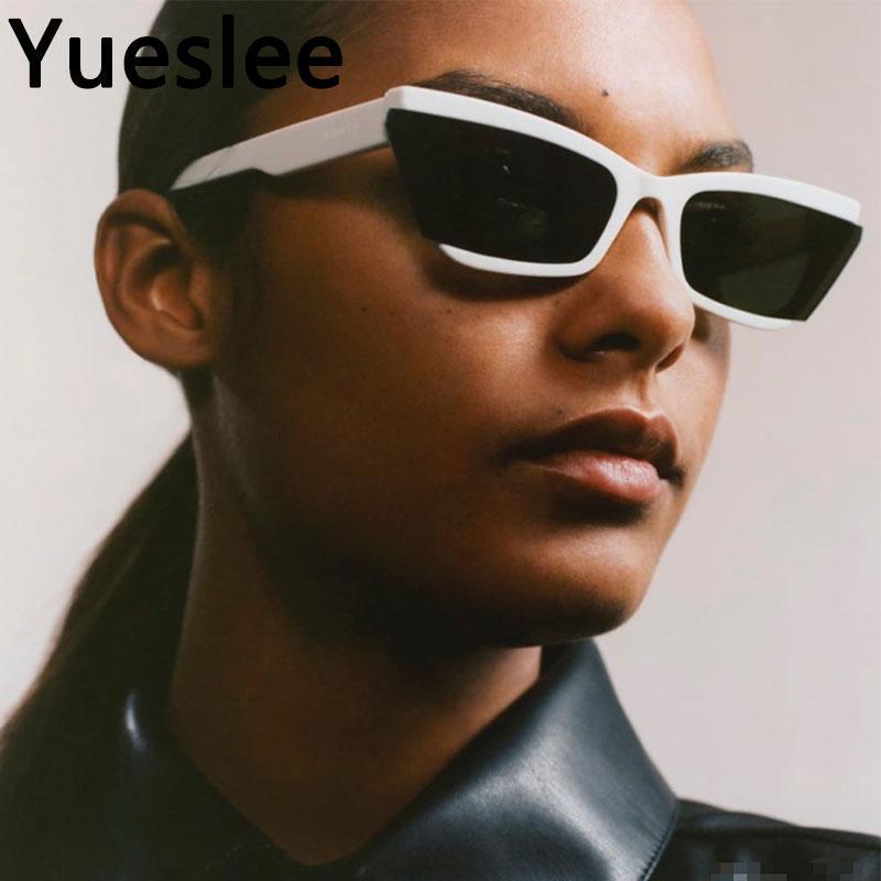 스퀘어 럭셔리 선글라스 남성 여성 패션 음영 UV400 빈티지 안경