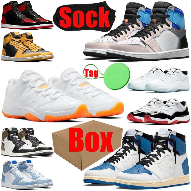 air jordan retro travis scott Баскетбольные кроссовки 1s 11s для мужчин и женщин 1 11 jumpman Bred Patent Fragment Prototype мужские и женские кроссовки спортивные кроссовки