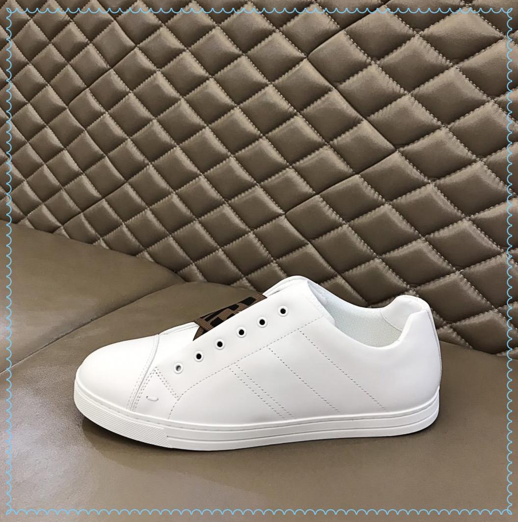 En kaliteli erkek high-end spor ayakkabı ithal buzağı derisi, kutusuyla klasik dekorasyon US38-45