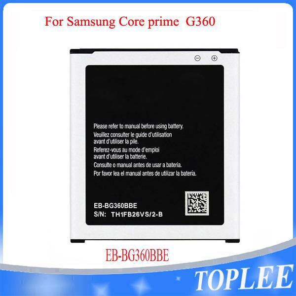 بطارية عالية الجودة EB-BG360BBE لسامسونج كور رئيس G360 G361F G361H G361H G360H / F G3606 G3608 G3609 بطاريات الهاتف