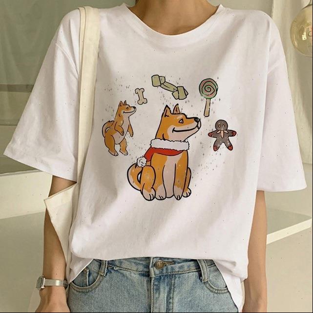 Frauen T-shirts Hohe Qualität Hunde Womens Tshirts Sommer Lässig O Nackenhemd Weibliche Harajuku Frau Tees Kurzarm