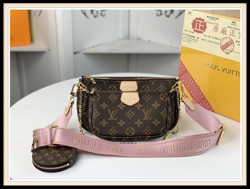 Luxurys Bags Bags Messenger Сумка Женщины Тотаны Модные Сумки Винтажные Печать Сумки на плечо Классический Сумка Crossbody LouisМешокVitton354.