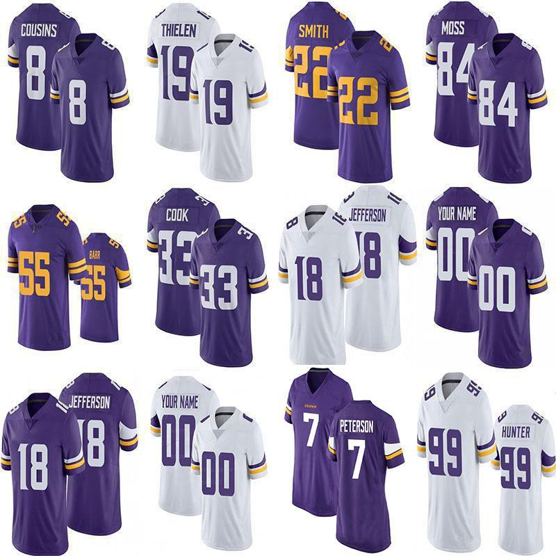 18 Джастин Джефферсон 7 Патрик Peterson Custom Football Jerseys 84 Randy Moss 19 Adam Thielen 8 Kirk Cousiess 33 Dalvin Cook 99 Danielle Hunter 22 Harrison Smith
