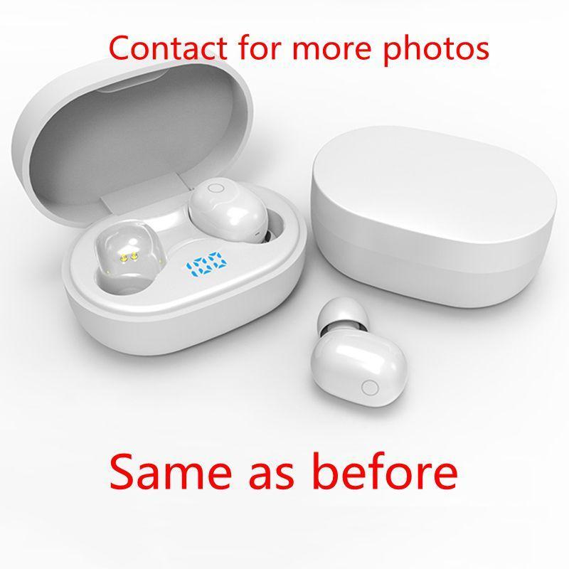 Kablosuz Kulaklık Kulaklık Çip Şeffaflık Metal Rename GPS Wirless Şarj Bluetooth Kulaklık Kulak Dropship