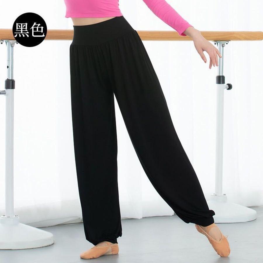 Nuevos pantalones de engorde y aptitud suave de las mujeres modales, pantalones de yoga con patas cercanos y baggy Knickerbockers