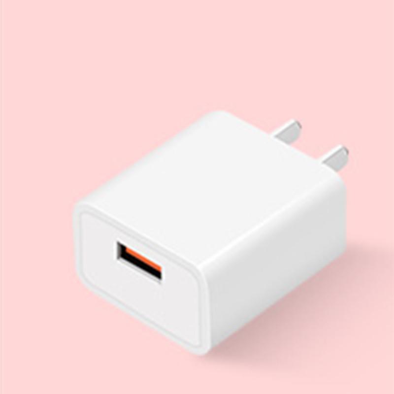 안드로이드 애플 휴대 전화 충전기 18W 슈퍼 빠른 플래시 충전 아름답고 좋은 QC3.0 충전 헤드