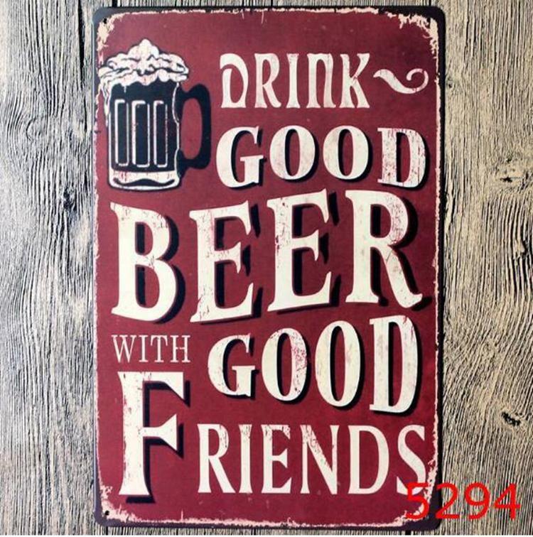 Metal Cerveja Cartaz Corona Extra Lata Sinais Retro Adesivos De Parede Decoração Arte Placa Vintage Decor Decoração Bar Pub Café DHF5742