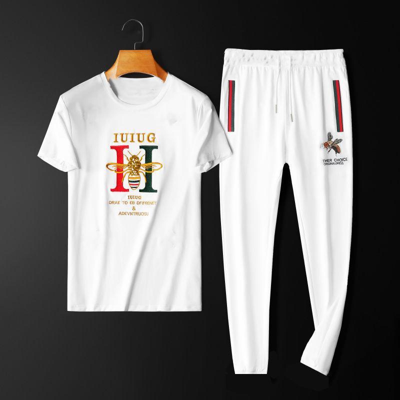Erkek Plaj Tasarımcıları Eşofman Yaz Takım Elbise 21ss Moda T Gömlek Seaside Tatil Gömlek Şort Setleri Adam S 2021 Lüks Set Kıyafetler Spor Giysiler