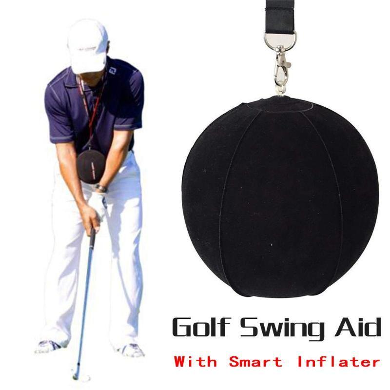 Golf Swing Trainer Ball с умной надувной ассистентом Обучение поведения поза для гольф-гольфа.