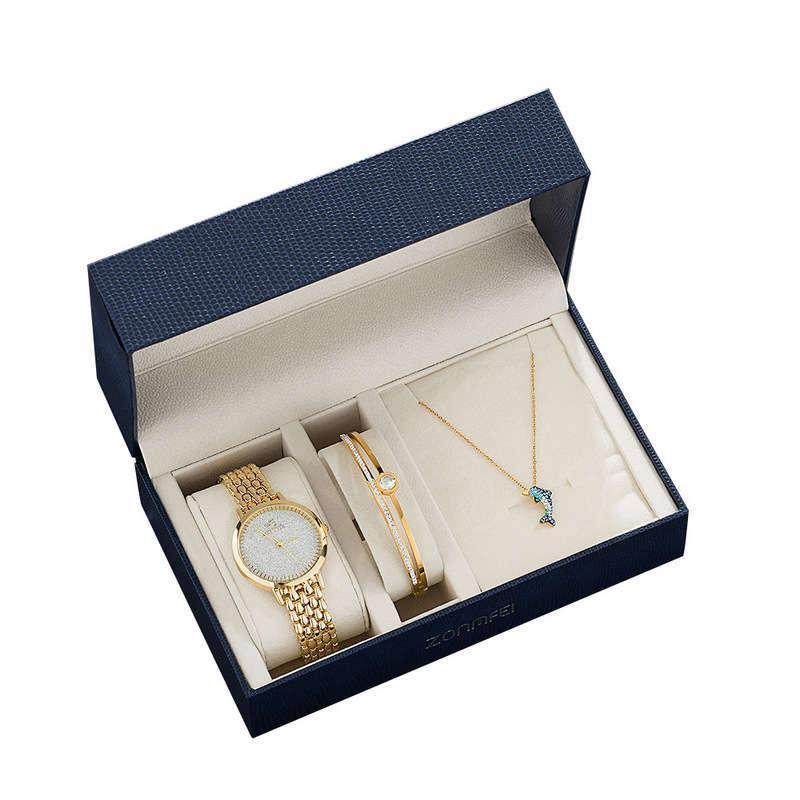 Regarder le poignet en acier inoxydable bracelet en acier inoxydable de quartz
