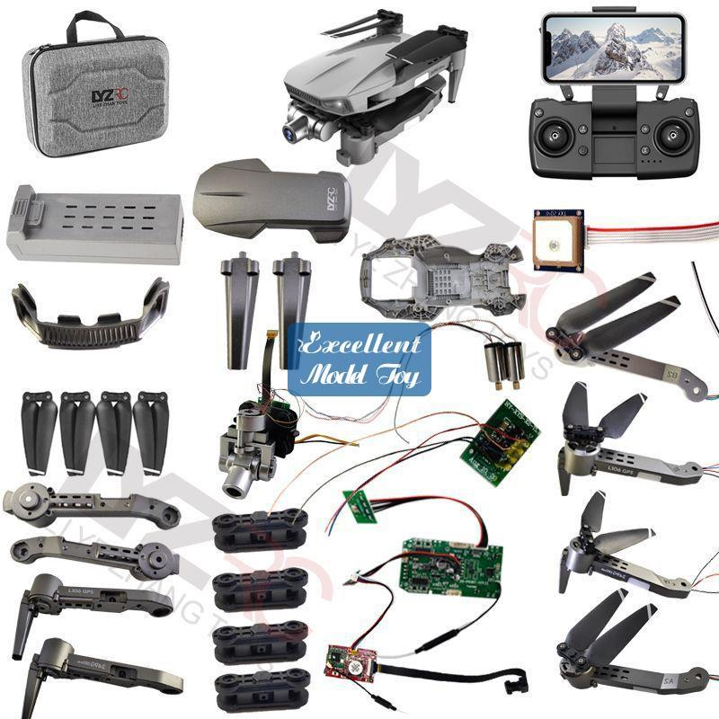 L106 PRO Drone Parts& Accessories, 4K Dual Camera 5G-WIFI 50x Zoom, 2 Axis Gimbal Anti-shake, GPS& Optical Flow Positioning, Smart Follow, Low-Power Return