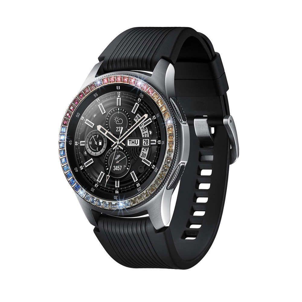 Surveillance appropriée pour Samsung Galaxy 42mm Couleur Diamant Dial Balance de protection de l'environnement Balance de l'environnement