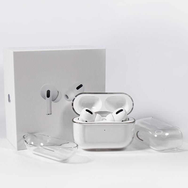 Airpods Pro Koruyucu Kapak Apple Airpod 3 Bluetooth Kulaklık Seti Şeffaf PC Sert Kabuk Temizle Koruyucu