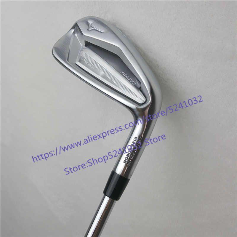 Männer Club 8 stücke Eisen JPX919 MP20 Set geschmiedet Eisen Golfclubs 4-9PG R / S Flex Stahlwelle mit Kopfabdeckung 201026