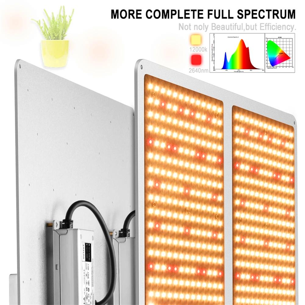 1000W 4000W Samsung LM301H / LM301B Квантовая техника LM301H / LM301B Quantum Tech Leed Holl Pull Spectrum 3000K 5000K Mix 660nm посадочная сумка