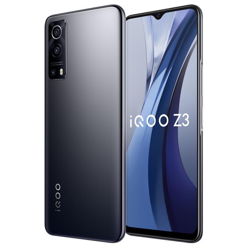 Original vivo iqoo z3 5g Handy 6GB RAM 128 GB ROM Snapdragon 768g Octa Core Android 6,58 Zoll Vollschirm 64mp 4400mAh Fingerabdruck ID FACE WACH SMART MELTEL
