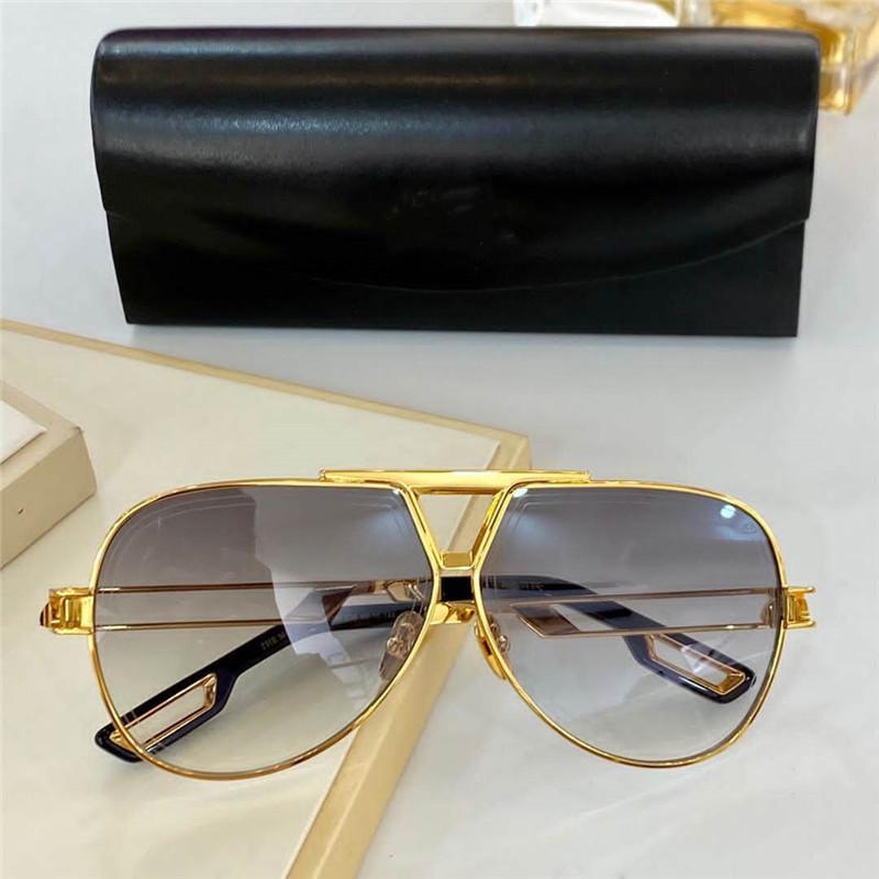 Les lunettes de soleil avancées McIII Hommes Metal Retro Titanium Unisexe Sunglasses de mode Style de mode Métal Full Cadre UV 400 Miroir Mirectirror avec boîte