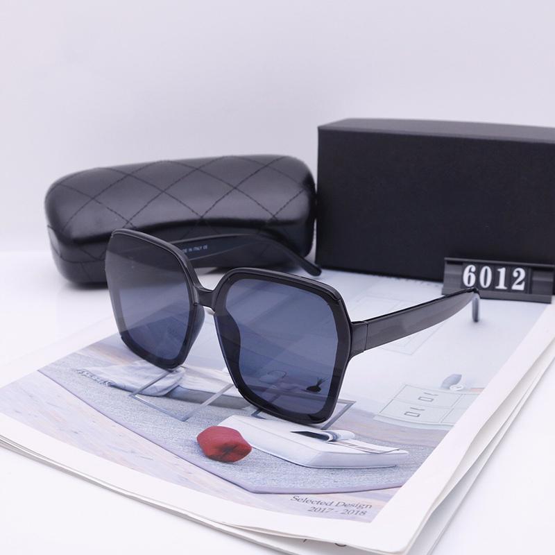 نظارات شمسية كبيرة للنساء جودة عالية أزياء نظارات السفر عطلة uv حماية القيادة نظارات الشمس القبول عدسة 6012