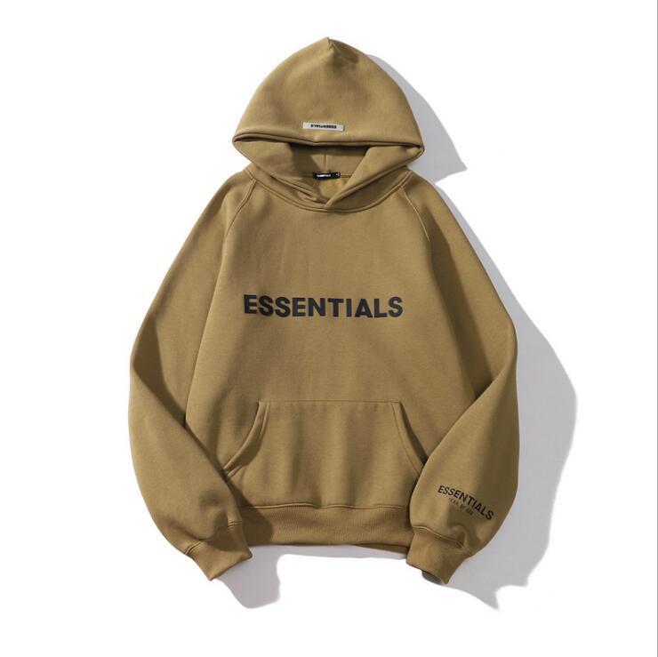 Roupas masculinas Qualidade Mens e Womens Hoodies Camisola Lazer Moda Tendências Medo de Deus Nevoeiro Essentials Homens Mulheres Mulheres Travelsuit